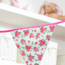 Cotton Floral Bunting