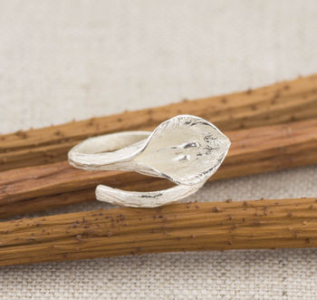 Calla Lily Wrap A Round Ring