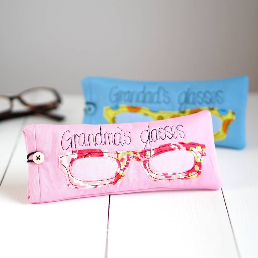 Personalised Glasses Case By Rosiebull Designs