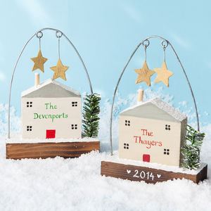 Personalised Christmas Home Decoration - tree decorations