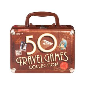 50 Travel Games 'Stocking Present' - board games & puzzles