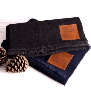 Lambswool Scarf With Personalised Message