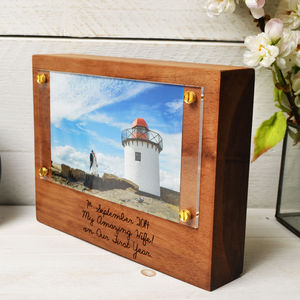 Personalised Photo Frame Block