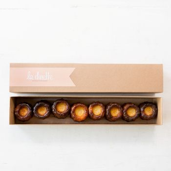 Gift Box Of Seven Cannelés De Bordeaux