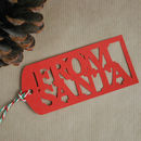 From Santa Gift Tags Set Of 10