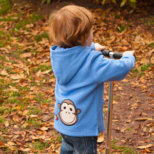 Baby's Organic Toasty Hoody By Monkey + Bob
