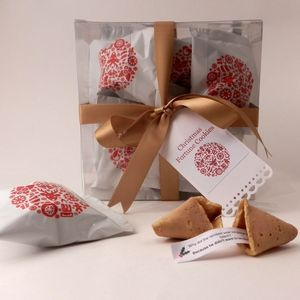 Christmas Fortune Cookies - stocking fillers