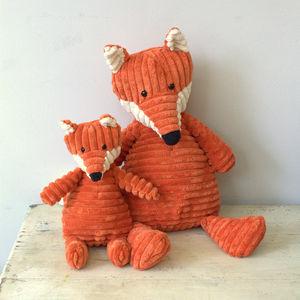Fox Small Soft Toy - soft toys & dolls