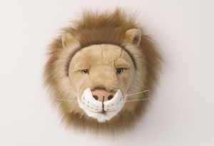 Decorative Animal Head Lion - nursery pictures & prints