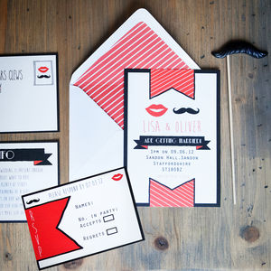 Moustache You Wedding Stationery