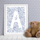 Alphagrams Single Letter Print