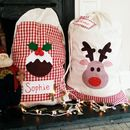 Personalised Christmas Sack/Stocking Extra Large