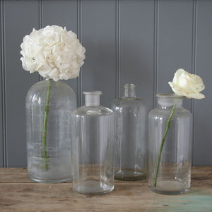 A Set Of Apothecary Bottles