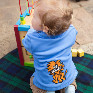 Baby's Toasty Top With Lennie The Lion - t-shirts & tops