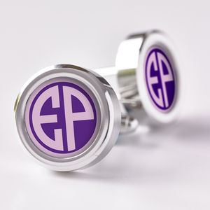 Personalised Monogram Cufflinks