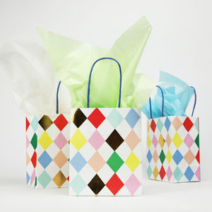 Circus Party Harlequin Bags
