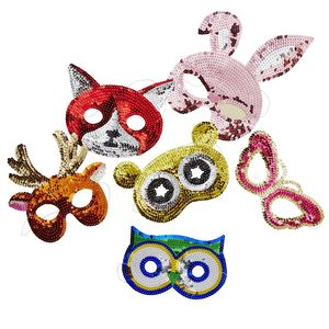 Kids Assorted Sequin Masks