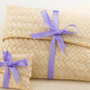 Rattan Pouch Gift Packaging