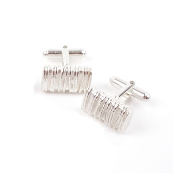 Textured ID Cufflinks