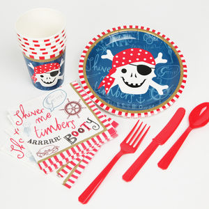 Pirate Tableware Set - picnics & barbecues