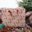 Christmas Recycled Jumbo Storage Bag