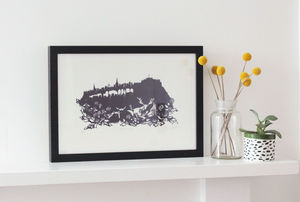 Edinburgh Limited Edition Screenprint - contemporary art
