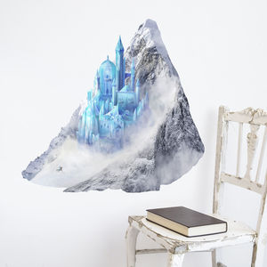 Princess Ice Castle Wall Sticker