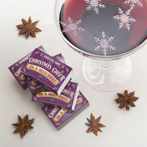 Festive Mulled Wine Gift Set In A Matchbox - view all gifts for her