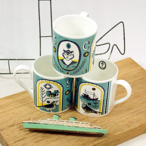 Shackleton's Cat Cup - tableware