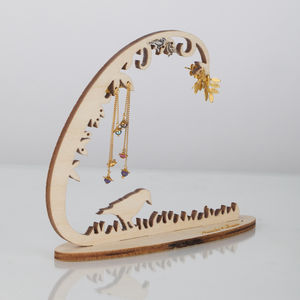Woodland Jewellery Stand - stocking fillers