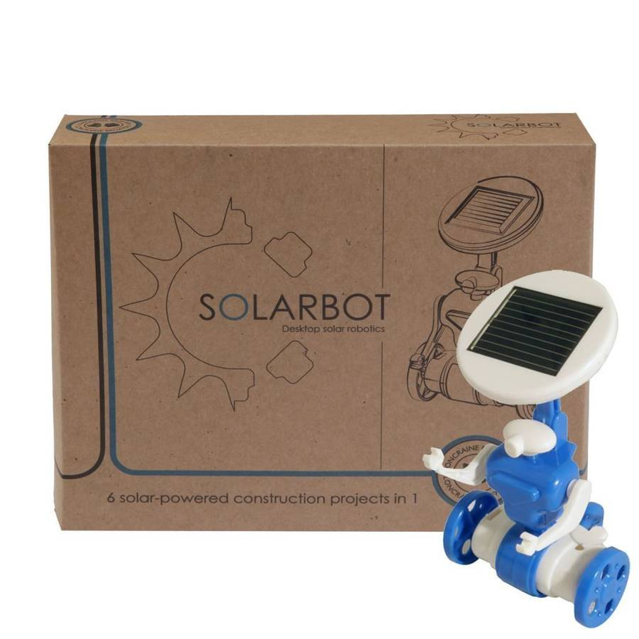 Make A Solar Robot, Helicoptor And More