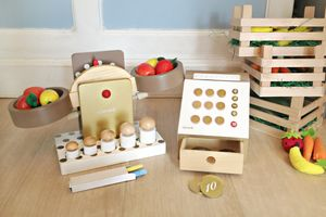 Wooden Greengrocer Set - traditional toys & games
