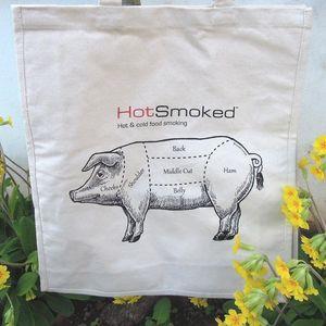 Cotton Pig Bag - bags & purses