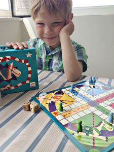 Ludo Board Game - traditional toys & games