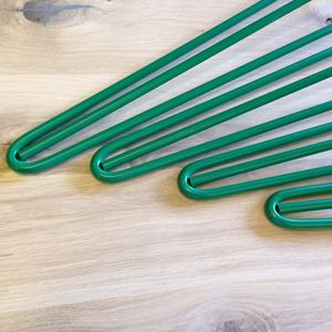Pack Of Four Three Rod Green Hairpin Legs