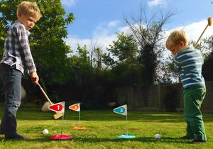 Wooden Children's Golf Set