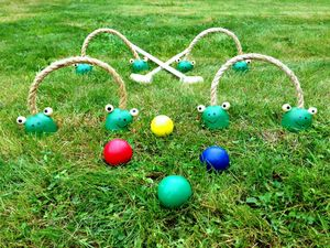 Wooden Croquet For Children - summer activities