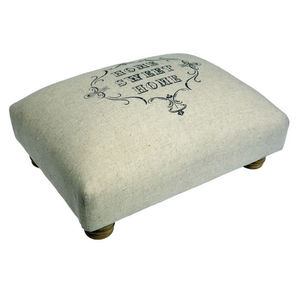 Vintage Style Foot Stool - living room