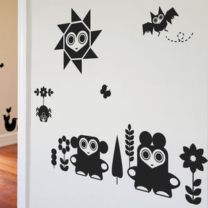 Animal Friendlies Wall Stickers By Upper Playground