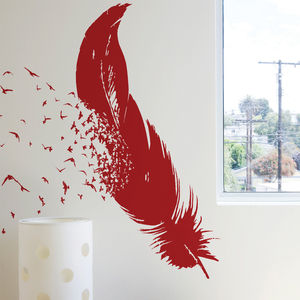 Birds Of A Feather By Threadless - wall stickers