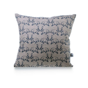 Bunnies Linen Cushion - cushions