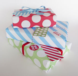Christmas Gift Wrap Multi Pack Mix And Match - cards & wrap