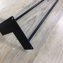 Pack Of Four Two Rod Black Hairpin Legs
