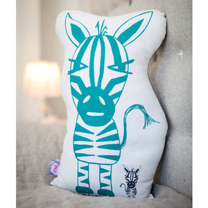 Zebra Shaped Cushion - cushions