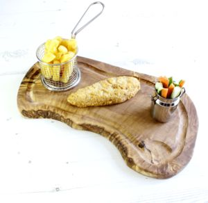 Natural Olive Wood Carving Board - cooking & food preparation