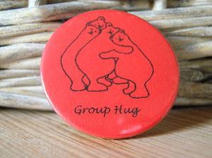 Group Bear Hug Badge - shop by category