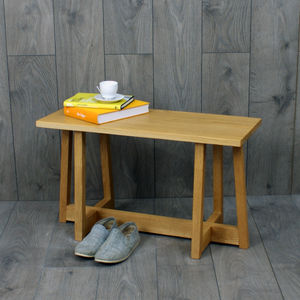 Avenir Bench Solid Oak