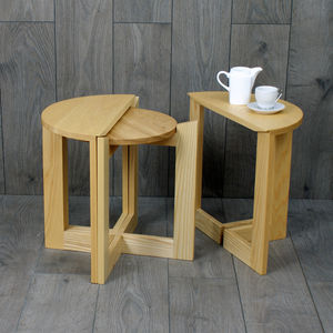 Nesting Tables Three Coffee Tables In One - furniture