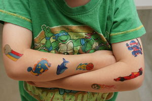 My First Temporary Tattoos Boys - party bags and ideas