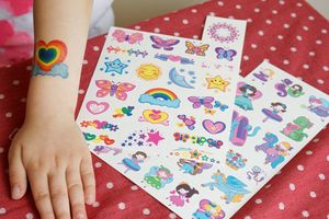 My First Temporary Tattoos Girls - temporary tattoos